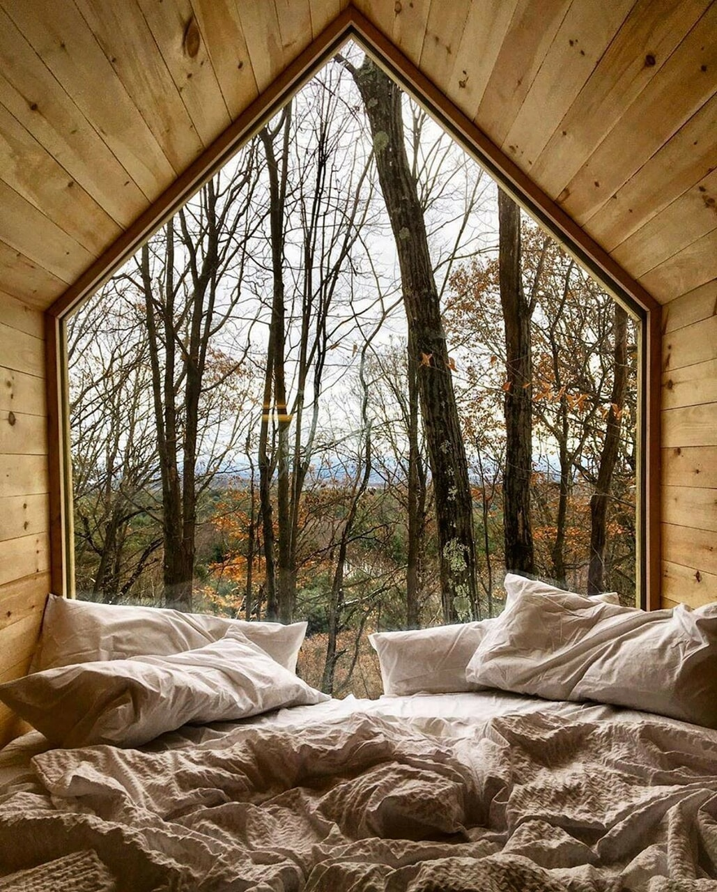 aesthetic, bedroom, and cabin image