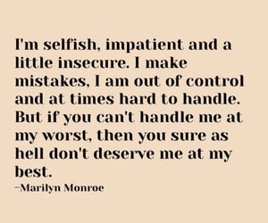 Best, Marilyn Monroe, and me image