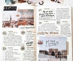 journaling, writing, and bujo image