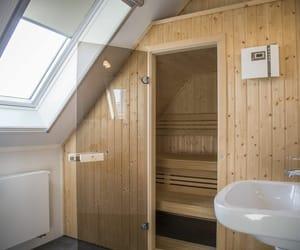 huisje met prive sauna, huisje met sauna, and vakantiewoning met sauna image