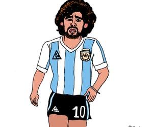 argentina, diego, and futbol image