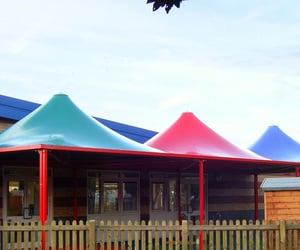 """canopy covering in surat, modulartensilestructures, and '""""awning in vadodara"""" image"""