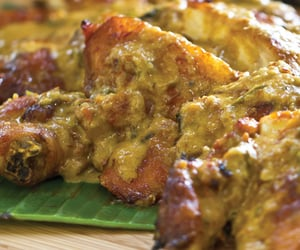 asian food, grilled chicken, and indonesian food image