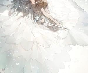 cute girl, anime, and sleep image