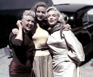 Betty Grable, Lauren Bacall, and Marilyn Monroe image