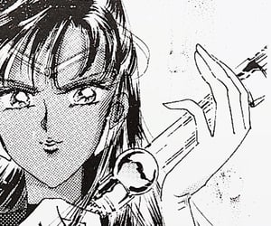 90s, anime, and manga cap image