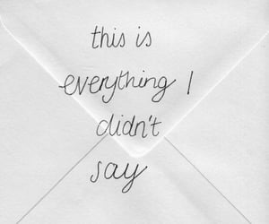 envelop, feelings, and everything image