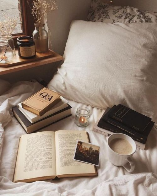 book, cozy, and aesthetic image