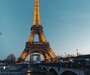eiffel tower, tour eiffel, and travel image