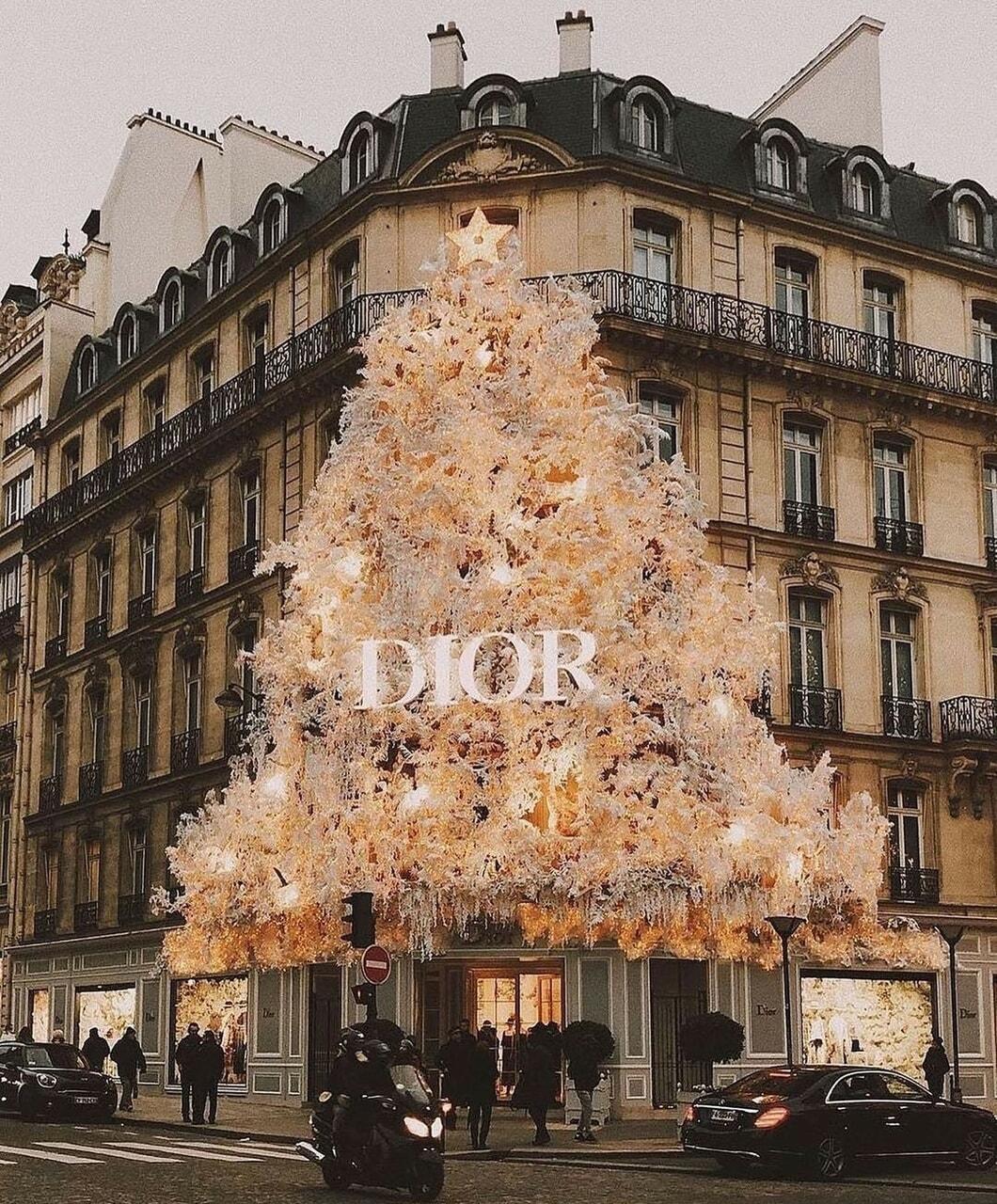 christmas, dior, and luxury image