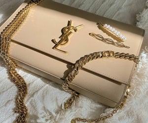 bag, handbag, and Yves Saint Laurent image