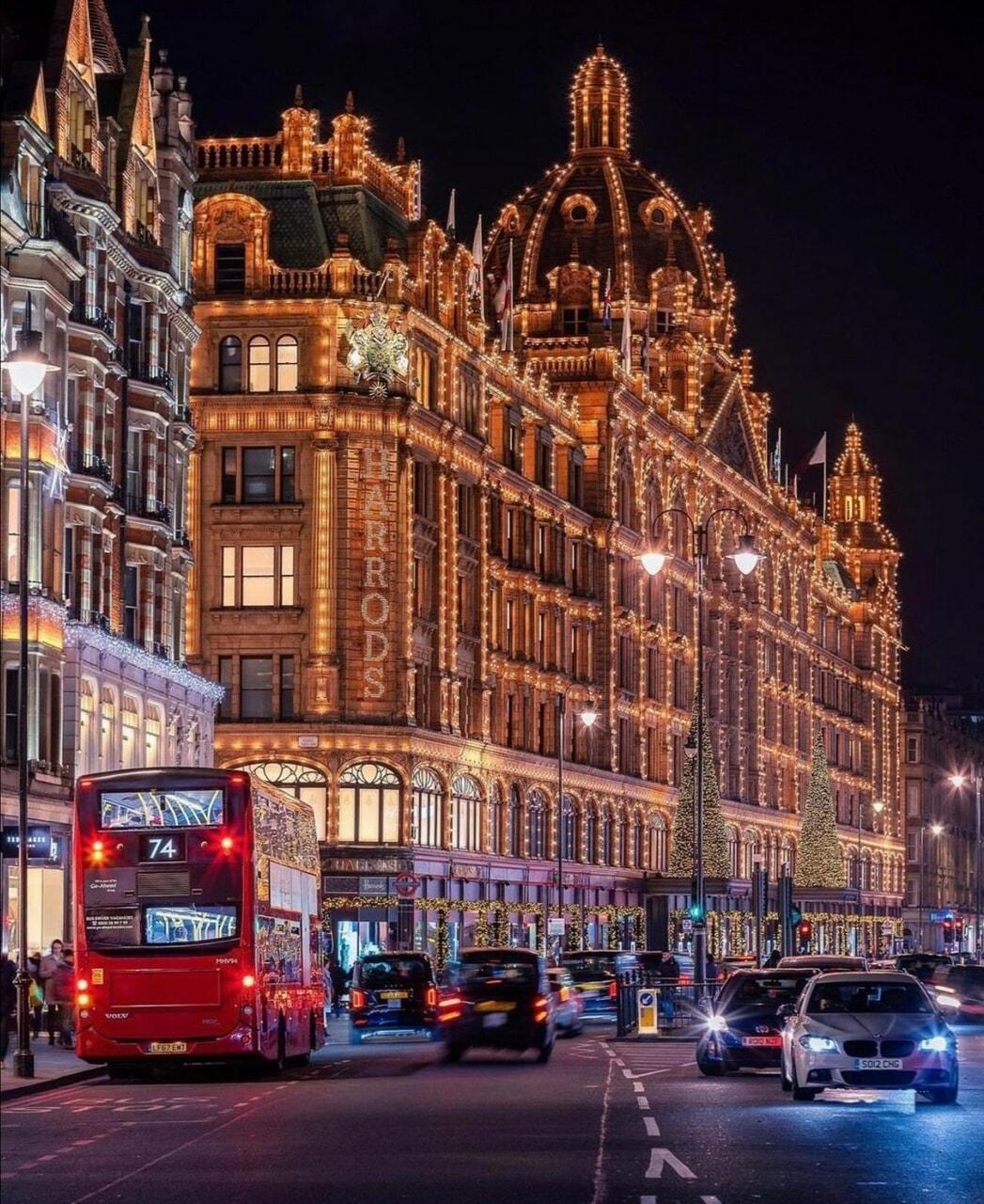 bus, christmas, and city image