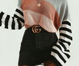 black, sweter, and clothes image