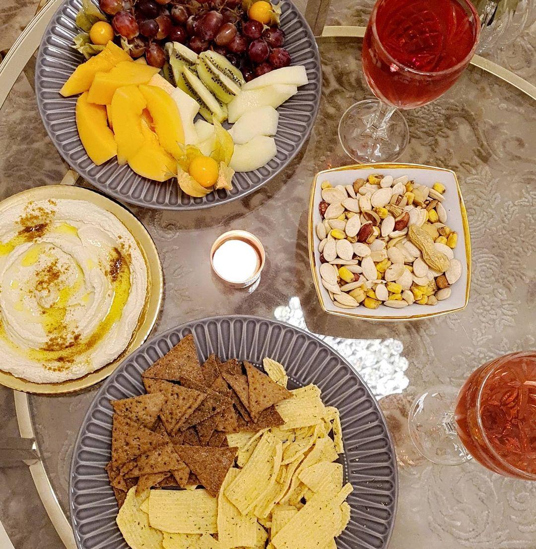 chips, food, and كرزات image