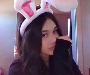 aesthetic, bunny ears, and icons image