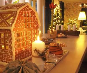 atmosphere, candle, and christmas image