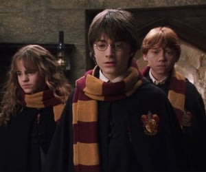 chamber of secrets, gryffindor, and harry potter image