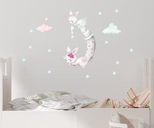 etsy, nursery wall decals, and woodland wall decal image