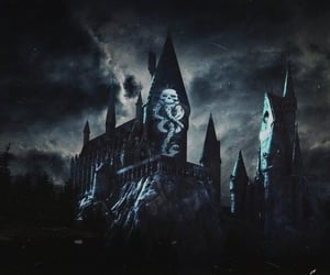aesthetic, castle, and dark image
