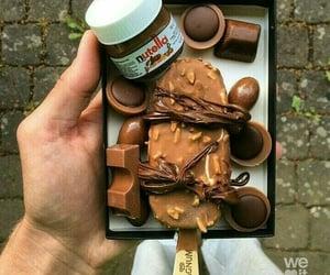 Magnum Eskimo ice cream chocolate candy nutella