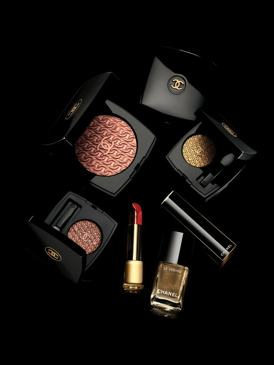 belleza, chanel, and maquillaje image