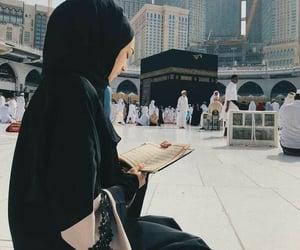 girl, pray, and islam image