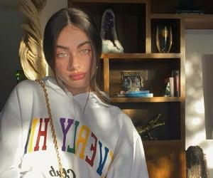 girl, yael shelbia, and model image