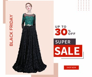 long sleeves, black formal dress, and dress for wedding image