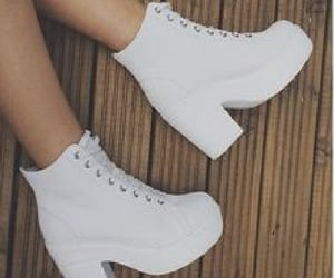 White boots!!