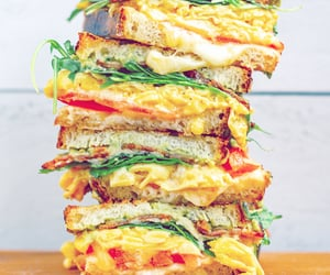 cheese, egg, and food image
