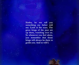 disney, simba, and king image