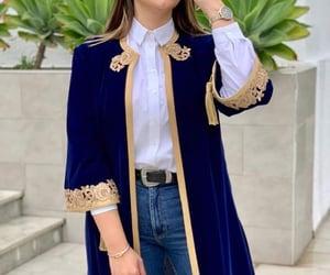 chic, abaya, and classy image