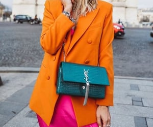 pink, look colorido, and fashion image