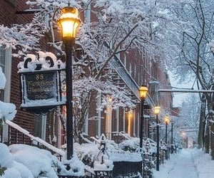 aesthetic, christmas, and snow image