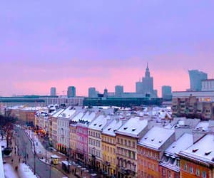 old town, warsaw, and Poland image
