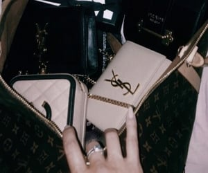 bag, chanel, and Louis Vuitton image