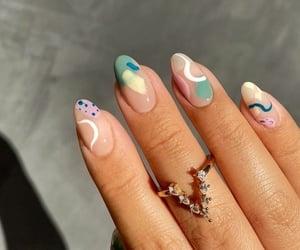 fashion, fashionable, and nails image