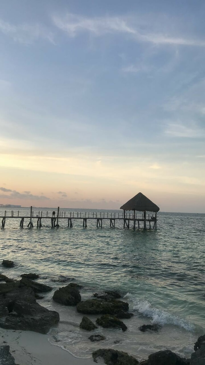 aesthetic, cancun, and ocean image