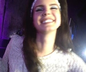 lana del rey, smile, and Queen image