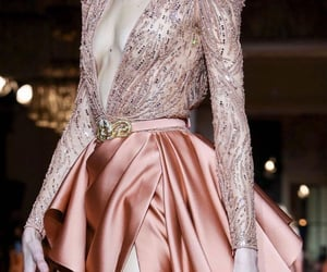 Couture, eveningdress, and dress image