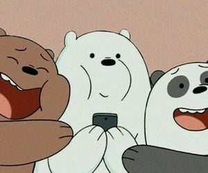 wallpaper, we bare bears, and cartoon image