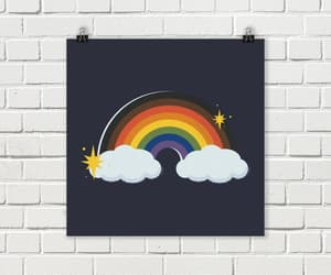 etsy, pride, and rainbow image
