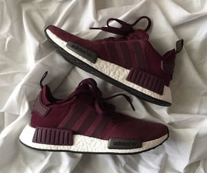 fashion, red, and nmd image