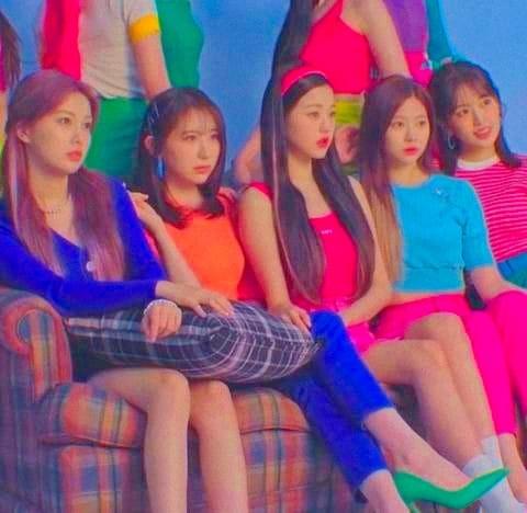 izone, wonyoung, and kang hye won image