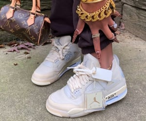sneaker heads, fashion, and hand bag image