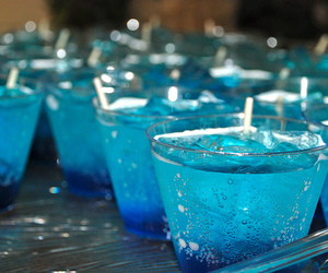 drink, blue, and photography image