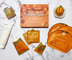 beauty, pandemic, and pumpkin spice image