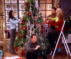 friends and christmas image