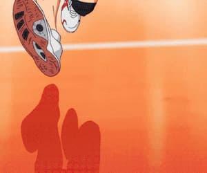 anime, haikyuu, and gif image