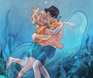kiss and percy jackson image